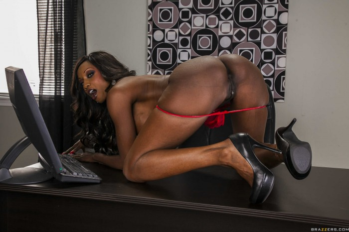 Diamond Jackson Ass and Pussy